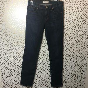 Madewell blue Straight leg jean size 27